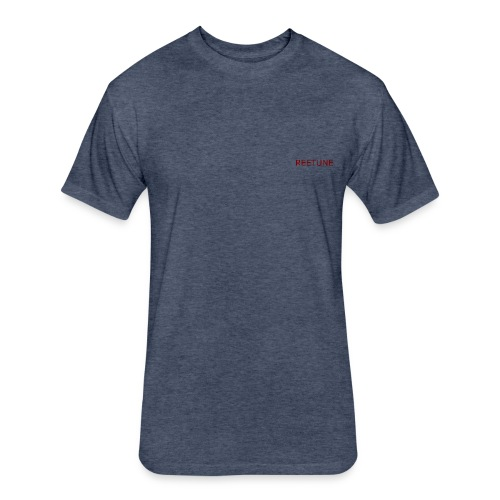 Reetune Original - Fitted Cotton/Poly T-Shirt by Next Level