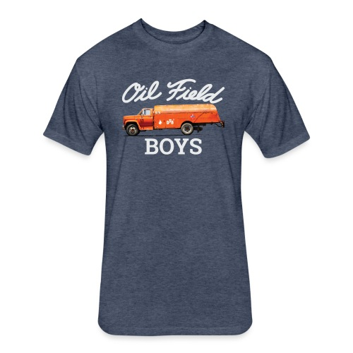 OFB Retro Oil Transport - Fitted Cotton/Poly T-Shirt by Next Level