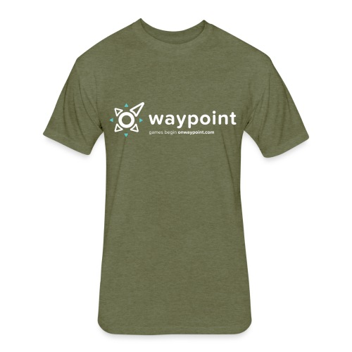 Waypoint Logo (Light Version) - Fitted Cotton/Poly T-Shirt by Next Level