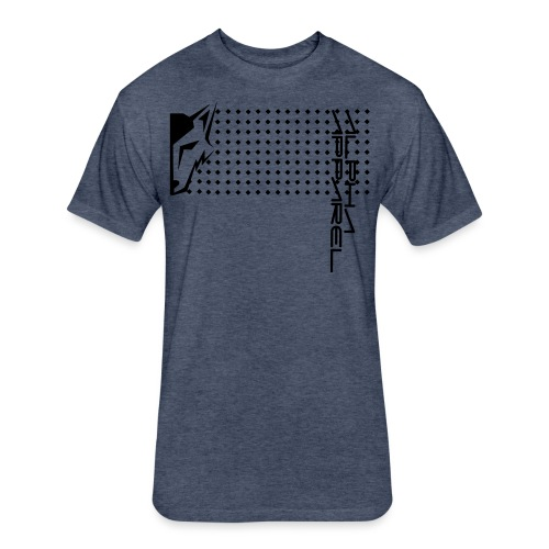 infinite diamond - Fitted Cotton/Poly T-Shirt by Next Level