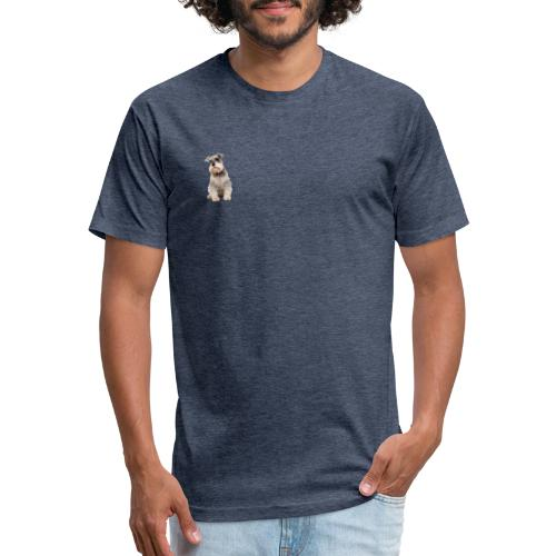Schnauzer Merch - Fitted Cotton/Poly T-Shirt by Next Level