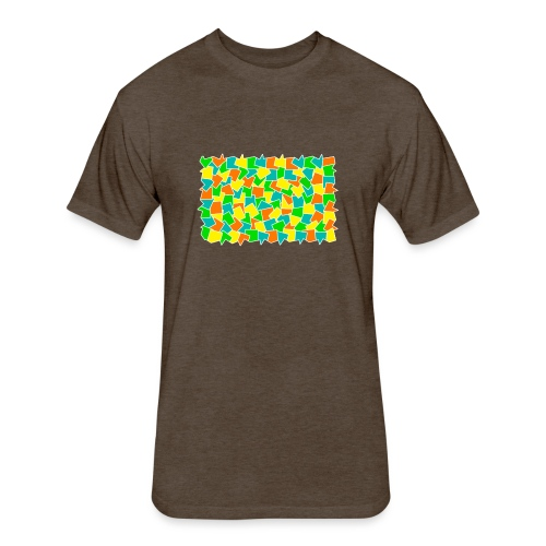 Dynamic movement - Fitted Cotton/Poly T-Shirt by Next Level