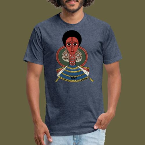 Habesha - Fitted Cotton/Poly T-Shirt by Next Level