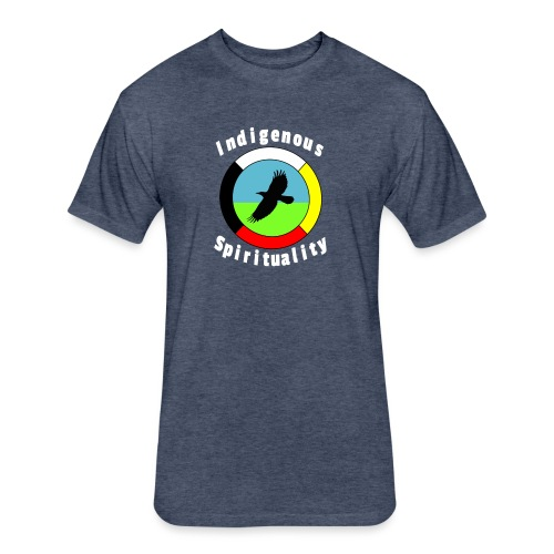 Indigenousspriituality - Fitted Cotton/Poly T-Shirt by Next Level