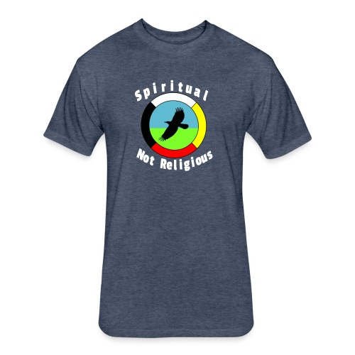 Spiritualnotreligious - Fitted Cotton/Poly T-Shirt by Next Level