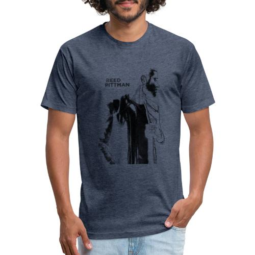 Reed Pittman Silhouette Tee - Fitted Cotton/Poly T-Shirt by Next Level