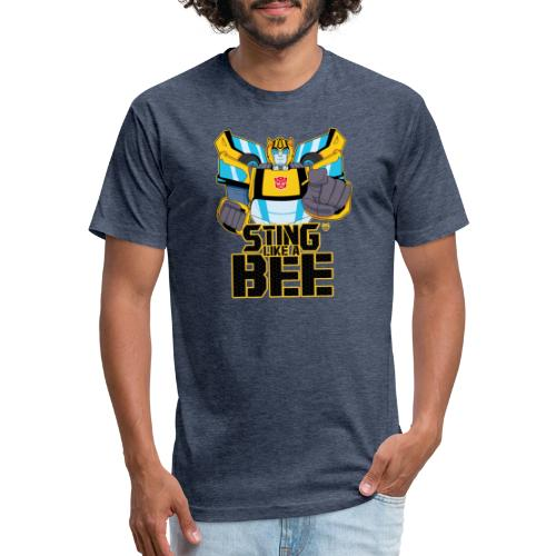 STING LIKE A BEE - Fitted Cotton/Poly T-Shirt by Next Level