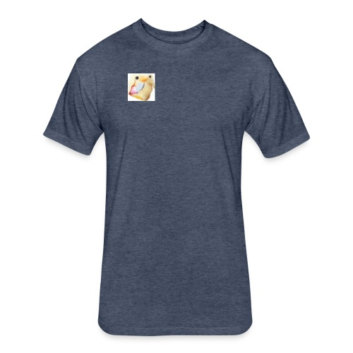 The Real Me - Fitted Cotton/Poly T-Shirt by Next Level