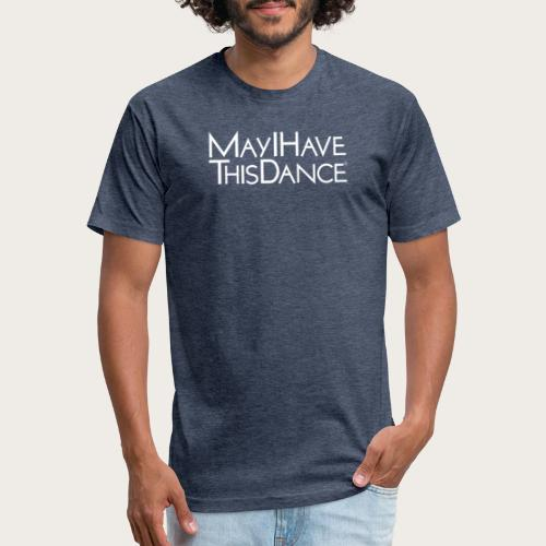 MAYI white logo - Fitted Cotton/Poly T-Shirt by Next Level