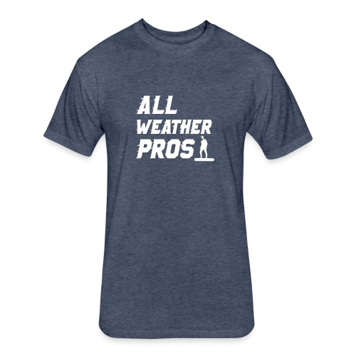 Messenger 841 All Weather Pros Logo T-shirt - Fitted Cotton/Poly T-Shirt by Next Level