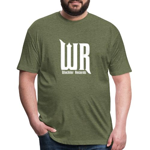 Wachler Records Light Logo - Fitted Cotton/Poly T-Shirt by Next Level