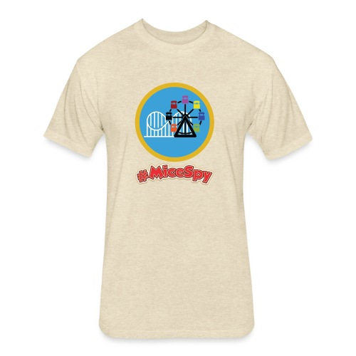 Paradise Pier Explorer Badge - Fitted Cotton/Poly T-Shirt by Next Level