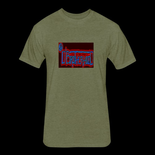 The D'BroTHerHooD Logo - Fitted Cotton/Poly T-Shirt by Next Level