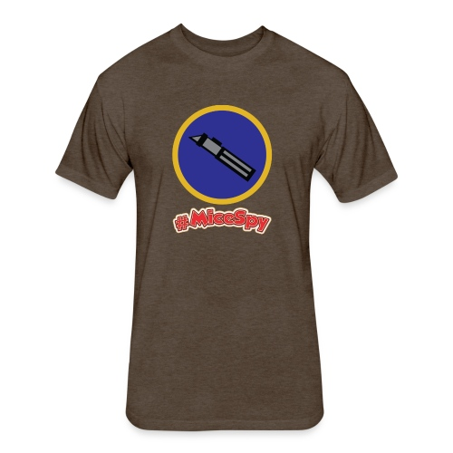 Star Wars Launch Bay Explorer Badge - Fitted Cotton/Poly T-Shirt by Next Level
