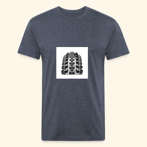 pneu vtt 29 crossmark lust - Fitted Cotton/Poly T-Shirt by Next Level