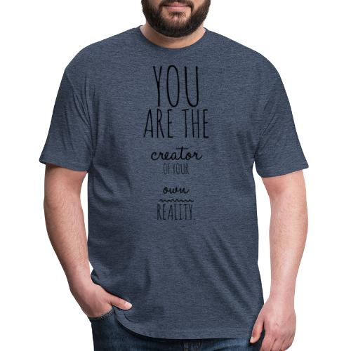 You are the Creator 2.0 - Fitted Cotton/Poly T-Shirt by Next Level