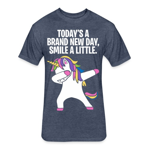 Unicorn DAB T-shirt - Fitted Cotton/Poly T-Shirt by Next Level