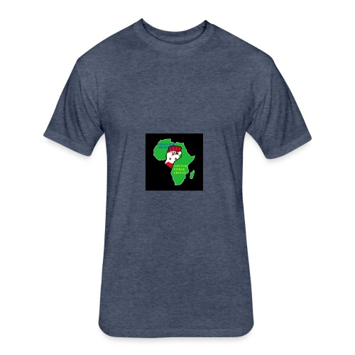 Sammy12 - Fitted Cotton/Poly T-Shirt by Next Level