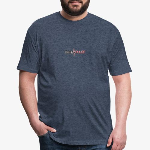 rtp blownup - Fitted Cotton/Poly T-Shirt by Next Level