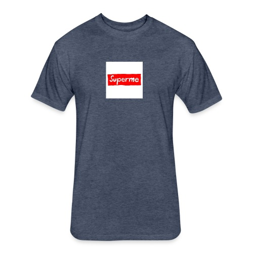 Superme - Fitted Cotton/Poly T-Shirt by Next Level