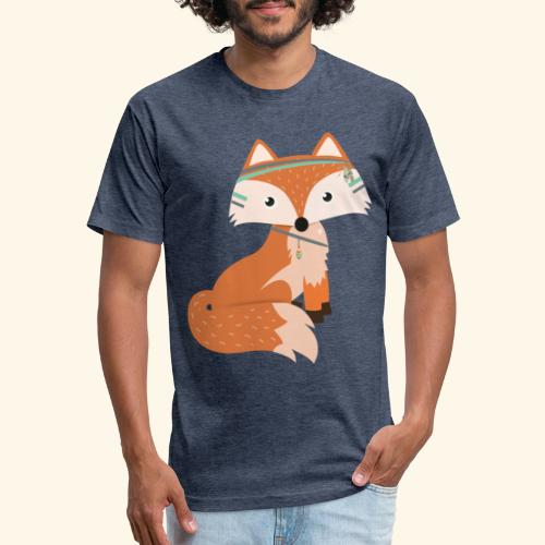 Felix Fox - Fitted Cotton/Poly T-Shirt by Next Level