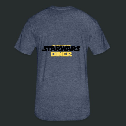STAR WARS DINER BASIC LOGO - Fitted Cotton/Poly T-Shirt by Next Level
