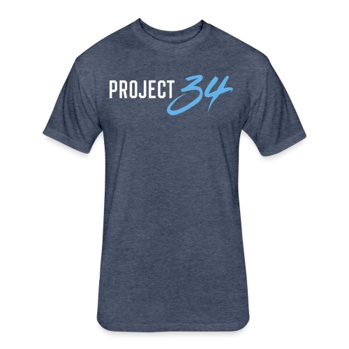 Rays_Project 34 - Fitted Cotton/Poly T-Shirt by Next Level