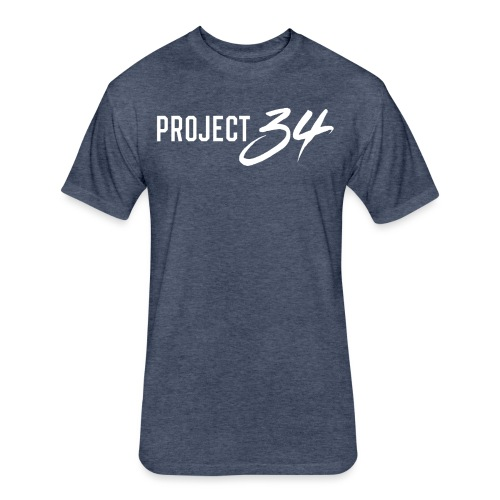 Yankees_Project 34 - Fitted Cotton/Poly T-Shirt by Next Level