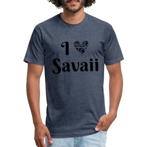 Savaii my love combo - Fitted Cotton/Poly T-Shirt by Next Level