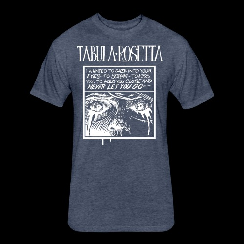 Tabula Rosetta--...But I Know You Couldn't See Me - Fitted Cotton/Poly T-Shirt by Next Level