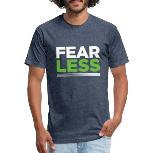 FEARLESS - Fitted Cotton/Poly T-Shirt by Next Level