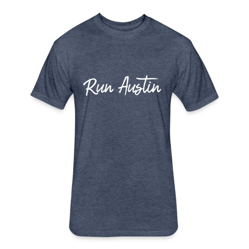 Run Austin Virtual Series - Fitted Cotton/Poly T-Shirt by Next Level