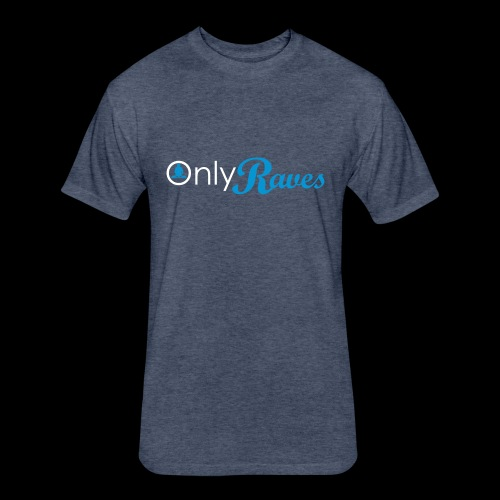 Only Raves - Fitted Cotton/Poly T-Shirt by Next Level