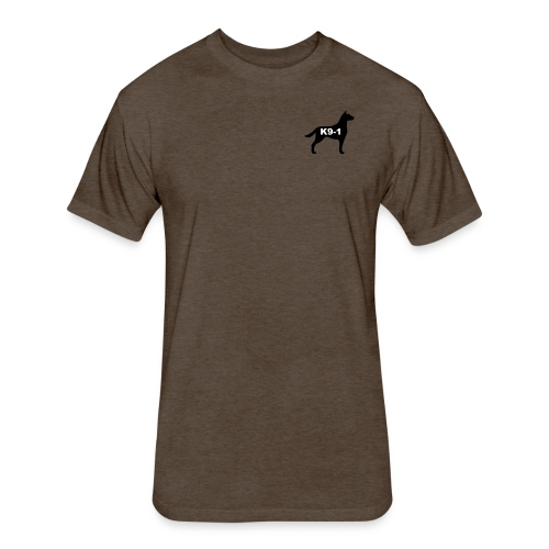 k9-1 Logo Large - Fitted Cotton/Poly T-Shirt by Next Level
