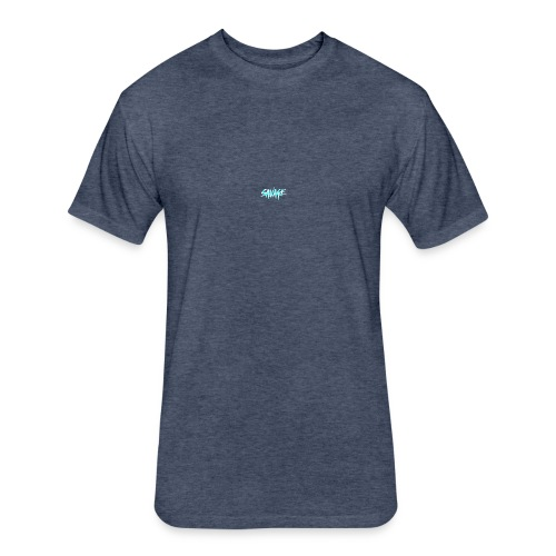 savage merchandise - Fitted Cotton/Poly T-Shirt by Next Level