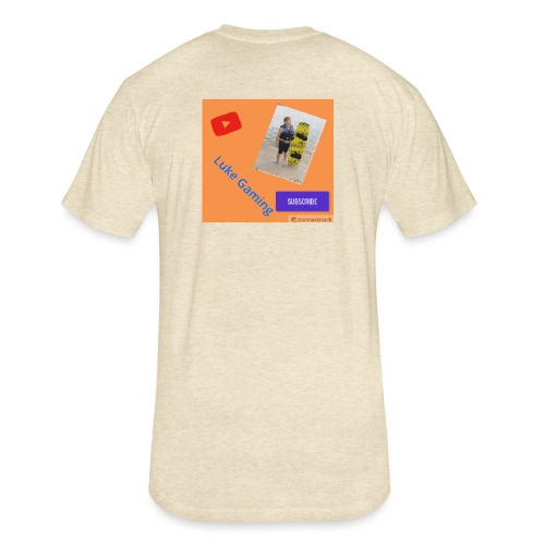 Luke Gaming T-Shirt - Fitted Cotton/Poly T-Shirt by Next Level