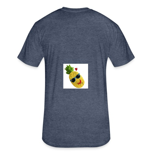 toot to ligma pineapples - Fitted Cotton/Poly T-Shirt by Next Level