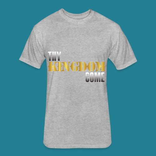 Thy Kingdom Come - Fitted Cotton/Poly T-Shirt by Next Level