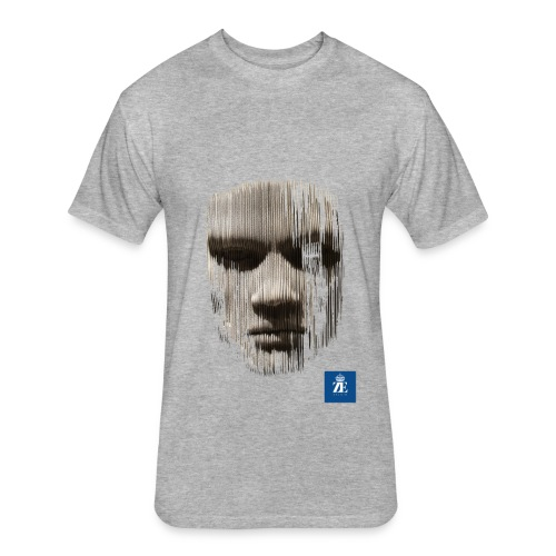 FaceOff - Fitted Cotton/Poly T-Shirt by Next Level