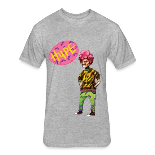 Sport Grandma Hype - Fitted Cotton/Poly T-Shirt by Next Level