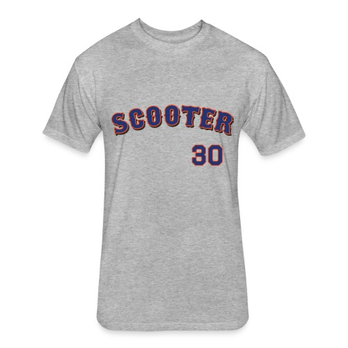 Michael Scooter Conforto All-Star T-Shirt - Fitted Cotton/Poly T-Shirt by Next Level