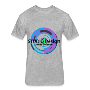 S4DLogo - Fitted Cotton/Poly T-Shirt by Next Level