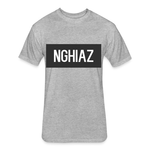 nghiazshirt - Fitted Cotton/Poly T-Shirt by Next Level