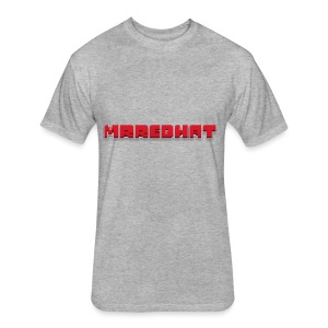 MrRedHat Plain Logo - Fitted Cotton/Poly T-Shirt by Next Level