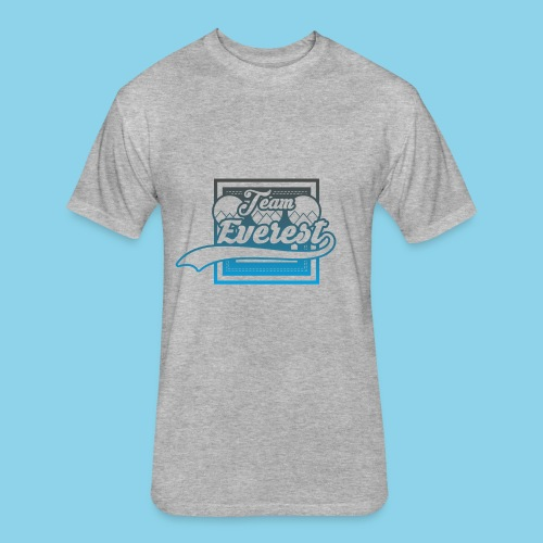 TEAM EVEREST - Fitted Cotton/Poly T-Shirt by Next Level