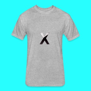 XumzyLOGO - Fitted Cotton/Poly T-Shirt by Next Level