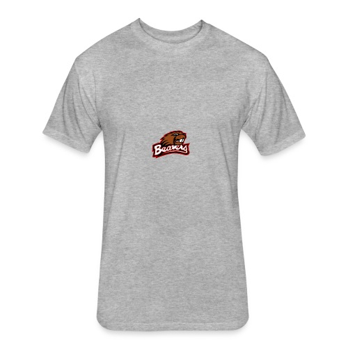 Bluefield Beavers - Fitted Cotton/Poly T-Shirt by Next Level