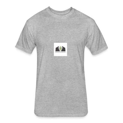 The Logo - Fitted Cotton/Poly T-Shirt by Next Level