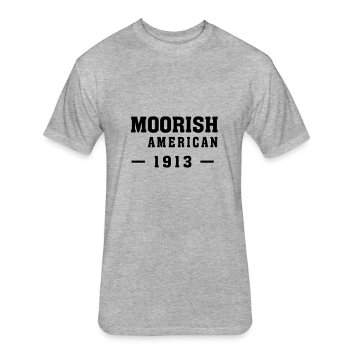 Moorish American Apparel - Fitted Cotton/Poly T-Shirt by Next Level