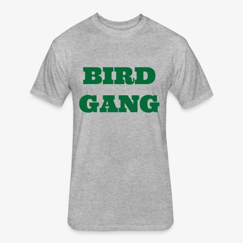 Bird Gang - Fitted Cotton/Poly T-Shirt by Next Level